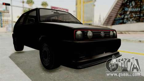 Volkswagen Golf 2 Tuning for GTA San Andreas right view
