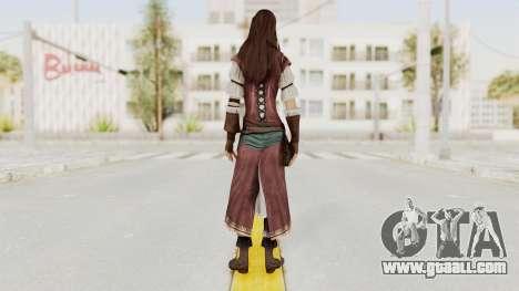 Assassins Creed Brotherhood - Courtesan for GTA San Andreas third screenshot