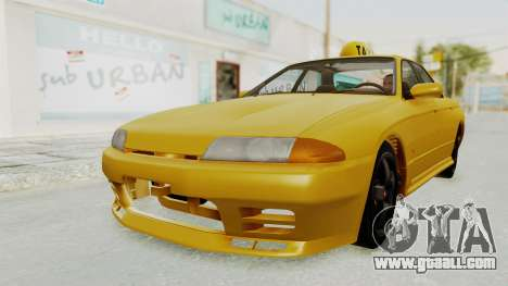Nissan Skyline R32 4 Door Taxi for GTA San Andreas