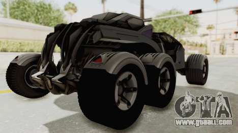 ADOM P3 Beta for GTA San Andreas back left view