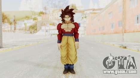Dragon Ball Xenoverse Goku SSJ4 for GTA San Andreas second screenshot
