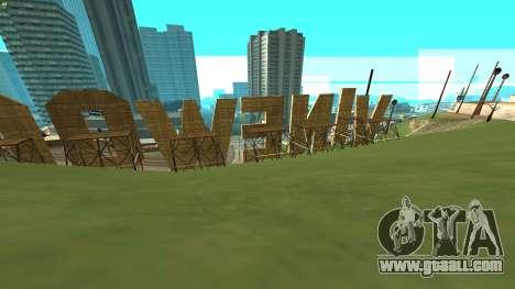 New Vinewood Russia for GTA San Andreas second screenshot