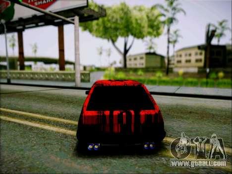 2109 Aggressive for GTA San Andreas right view
