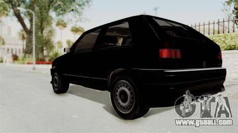 Volkswagen Golf 2 Tuning for GTA San Andreas left view