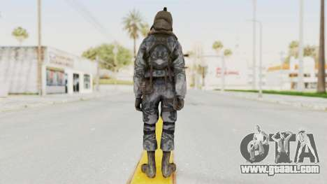 COD 4 Custom Russian Soldier for GTA San Andreas third screenshot
