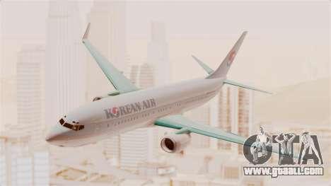 Boeing 737-800 Korean Air for GTA San Andreas