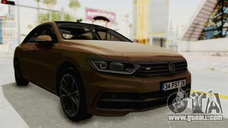 Volkswagen Passat B8 2016 RLine IVF for GTA San Andreas right view