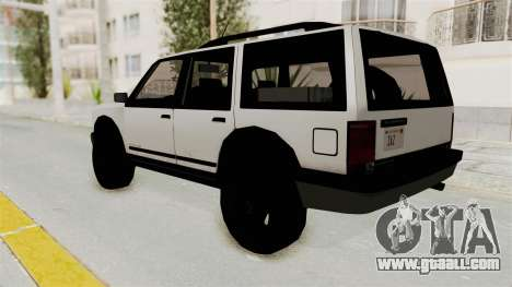 Dundreary Landstalker 1992 for GTA San Andreas left view