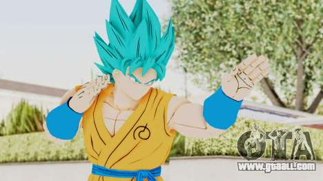 Dragon Ball Xenoverse Goku SSGSS V2.0 for GTA San Andreas