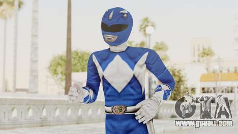 Mighty Morphin Power Rangers - Blue for GTA San Andreas