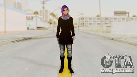 Iranian Girl Skin v2 for GTA San Andreas second screenshot