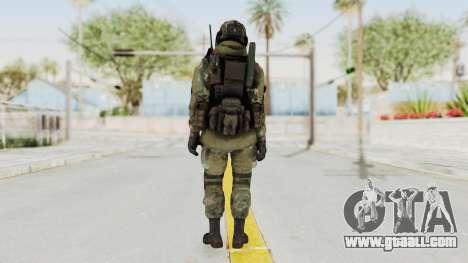 Advanced Warfare North Korean Assault Soldier for GTA San Andreas third screenshot