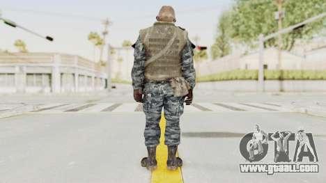 COD BO Russian Spetznas Flak MP v4 for GTA San Andreas third screenshot