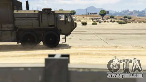 GTA 5 Heavy Expanded Mobility Tactical Truck right side view