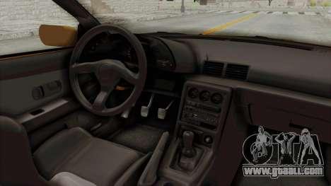 Nissan Skyline R32 4 Door Taxi for GTA San Andreas inner view