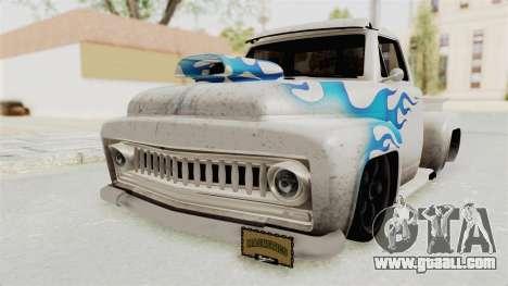 GTA 5 Slamvan Lowrider PJ1 for GTA San Andreas