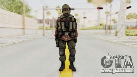 Battery Online Russian Soldier 10 v2 for GTA San Andreas second screenshot