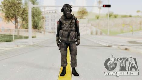 CoD MW3 Russian Military LMG Black for GTA San Andreas second screenshot