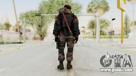 Battery Online Russian Soldier 1 v2 for GTA San Andreas third screenshot