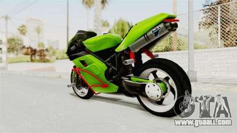 Ducati 998R Modif Stunt for GTA San Andreas left view