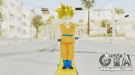 Dragon Ball Xenoverse Gohan Teen DBS SSJ1 v2 for GTA San Andreas second screenshot