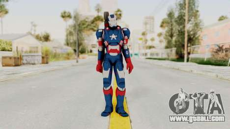 Marvel Heroes - Iron Patriot for GTA San Andreas second screenshot