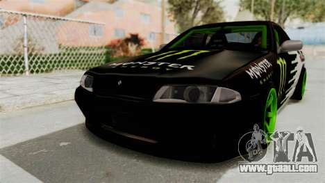 Nissan Skyline R32 Drift Monster Energy Falken for GTA San Andreas