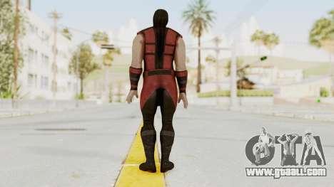 Mortal Kombat X Klassic Ermac for GTA San Andreas third screenshot