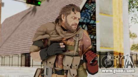 MGSV The Phantom Pain Venom Snake Sc No Patch v5 for GTA San Andreas