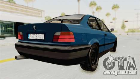 BMW 325i E36 for GTA San Andreas right view
