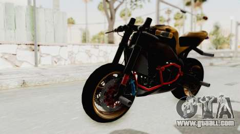 Honda CBR1000RR Naked Bike Stunt for GTA San Andreas right view