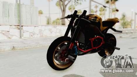 GTA San Andreas Honda CBR 1000RR naked bike stunt Mod