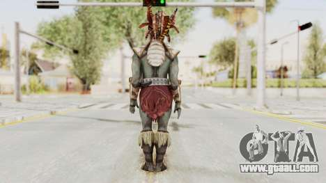 Mortal Kombat X - Kotal Kahn for GTA San Andreas third screenshot