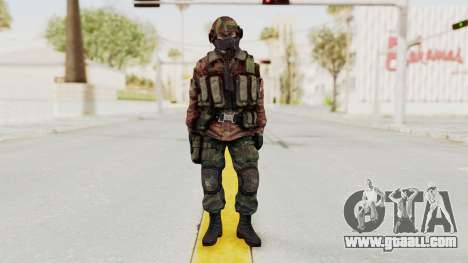 Battery Online Russian Soldier 7 for GTA San Andreas second screenshot
