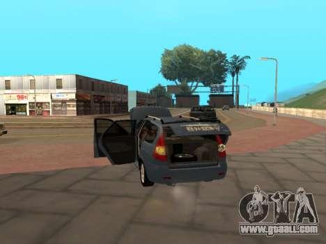 Lada Priora IVF for GTA San Andreas right view