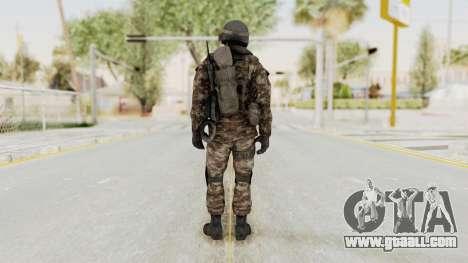 CoD MW3 Russian Military SMG v1 for GTA San Andreas third screenshot