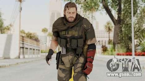MGSV The Phantom Pain Venom Snake Sc No Patch v4 for GTA San Andreas