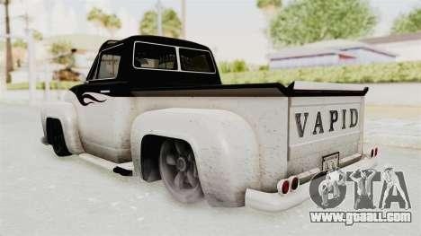 GTA 5 Slamvan Lowrider PJ1 for GTA San Andreas right view