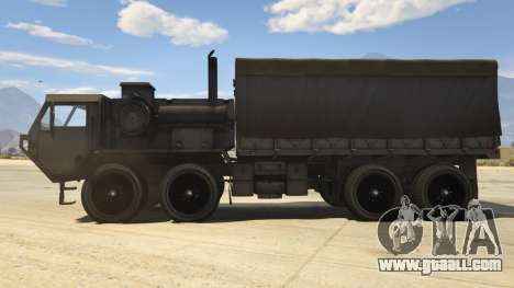 GTA 5 Heavy Expanded Mobility Tactical Truck left side view