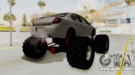 Dodge Neon Monster Truck for GTA San Andreas right view