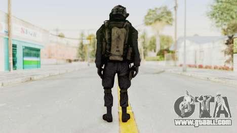 COD MW2 Shadow Company Soldier 1 for GTA San Andreas third screenshot