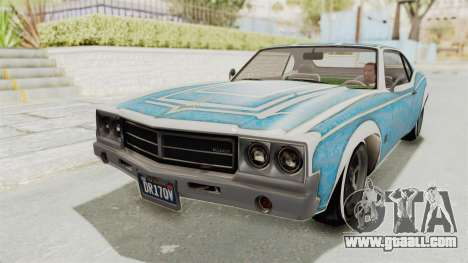 GTA 5 Declasse Sabre GT2 B for GTA San Andreas engine