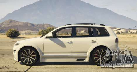 GTA 5 Touareg 2008 R50 v1.0 left side view