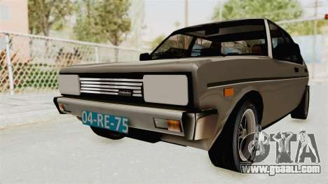 Fiat 131 Supermirafiori 1977 for GTA San Andreas right view