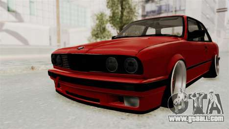 BMW M3 E30 Camber Low for GTA San Andreas back left view