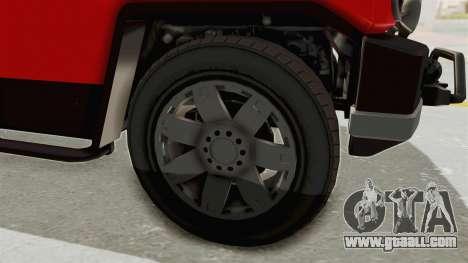 GTA 5 Karin Beejay XL IVF for GTA San Andreas back view