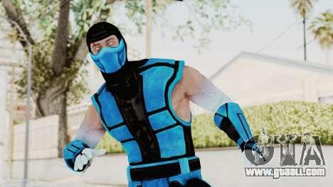 Mortal Kombat X Klassic Sub Zero UMK3 v2 for GTA San Andreas