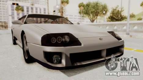 Jester Supra for GTA San Andreas back left view