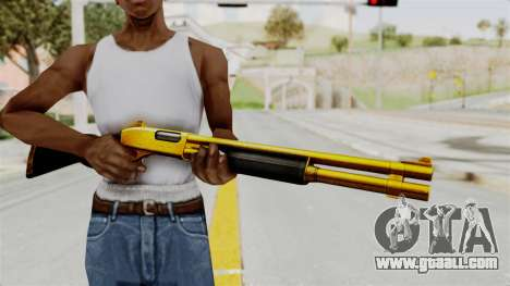 Remington 870 Gold for GTA San Andreas