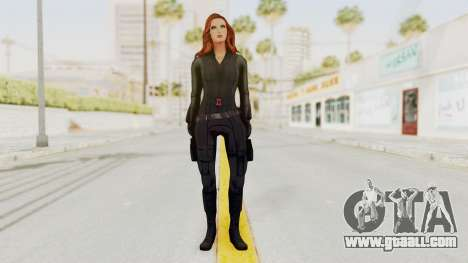 Captain America Civil War - Black Widow for GTA San Andreas second screenshot